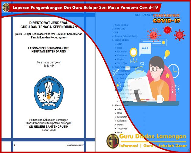 Laporan Pengembangan Diri Guru Belajar Seri Masa Pandemi Covid-19 Kementerian Pendidikan dan Kebudayaan