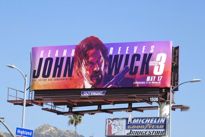 John Wick Chapter 3 Parabellum billboard