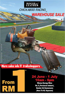 Chickaboo Racing to House of Leather Warehouse Sale 2016