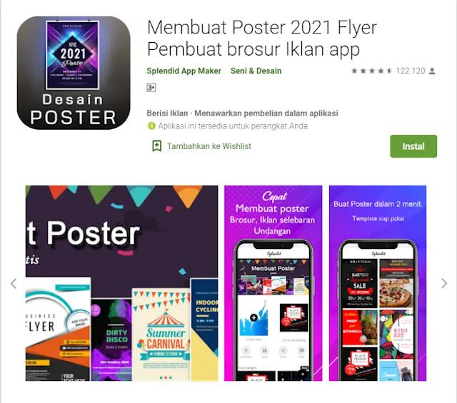 Aplikasi Membuat Poster - Poster Maker