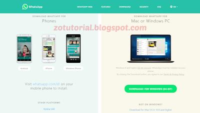 Tutorial Menggunakan Whatsapp Melalui Komputer PC atau Laptop Terbaru!