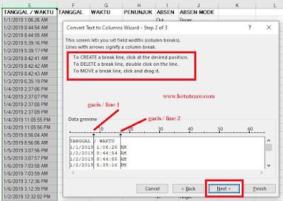 Cara Cepat Memisahkan Data dari satu Cell menjadi Beberapa Cell di Excel