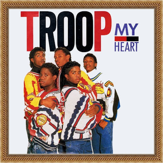 "Troop ‎– My Heart - Vinyl 12"" (1988)"