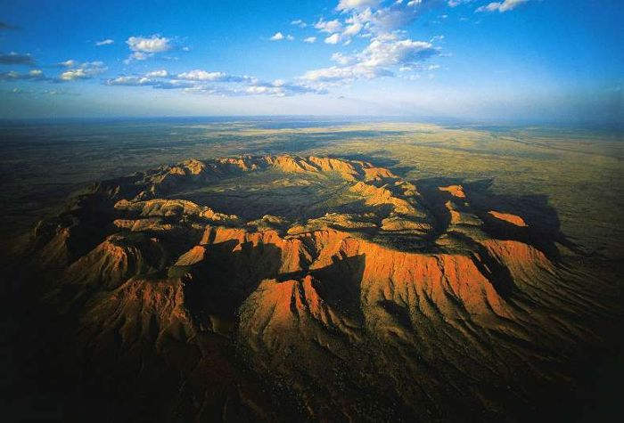 beautiful Gosses Bluff impact Crater