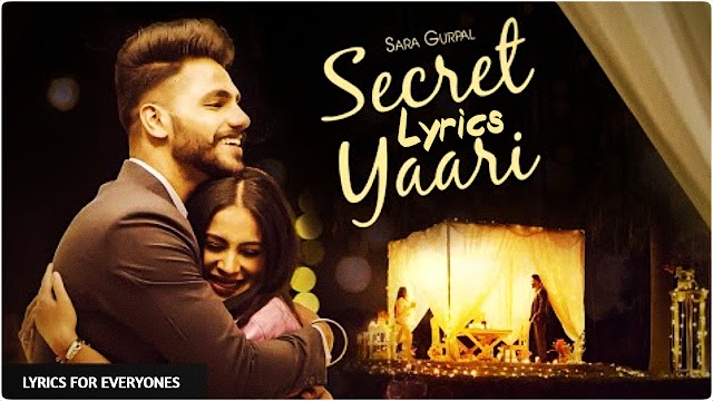 Secret Yaari Lyrics