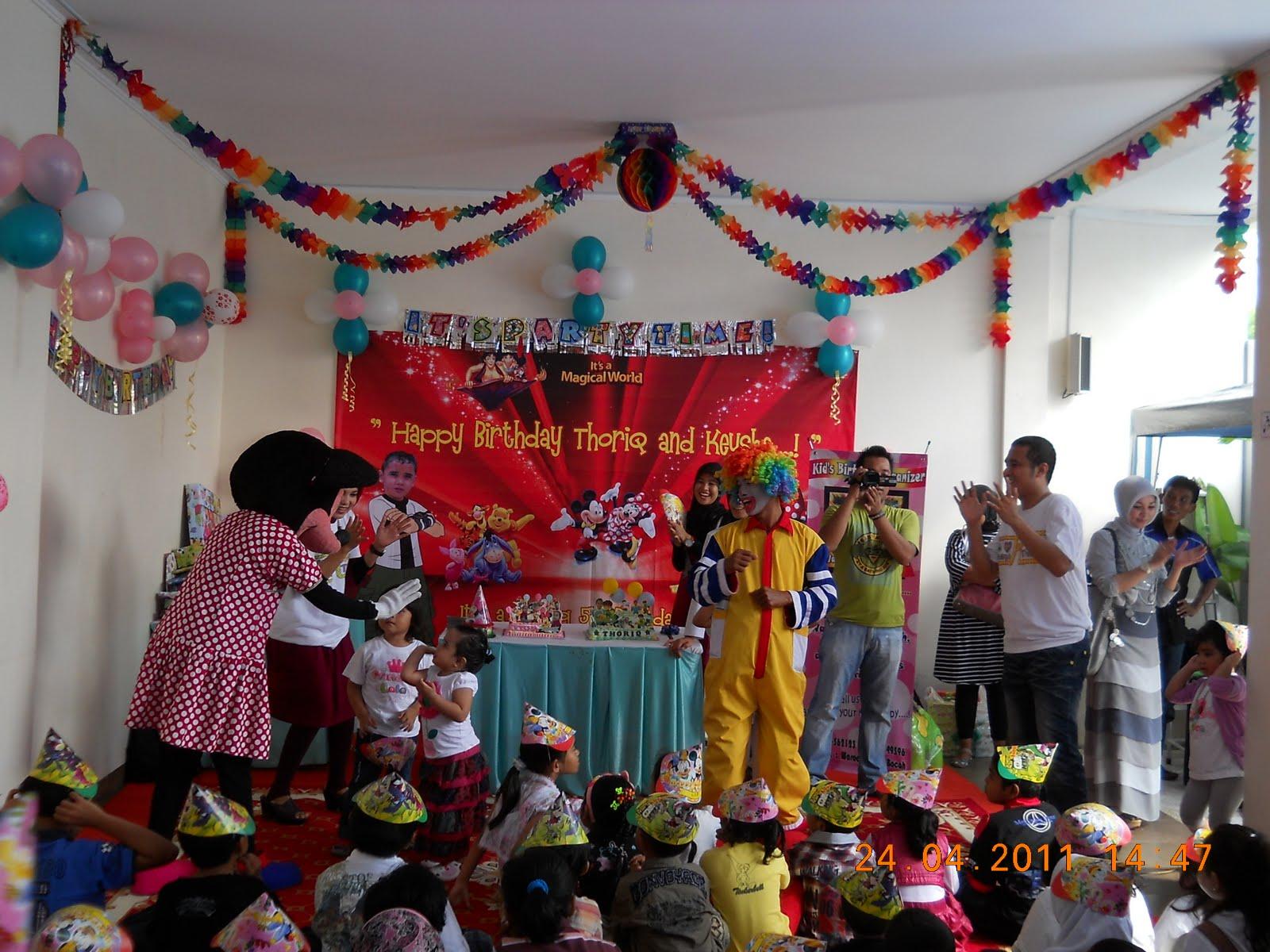 Wakabo Details Dekorasi Pesta Ulang Tahun