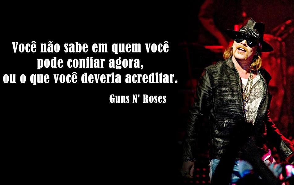 Frases Guns N'Roses
