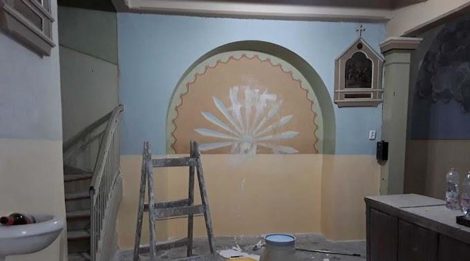 Megrongálták a felújítás alatt álló sándorfalvi templomot