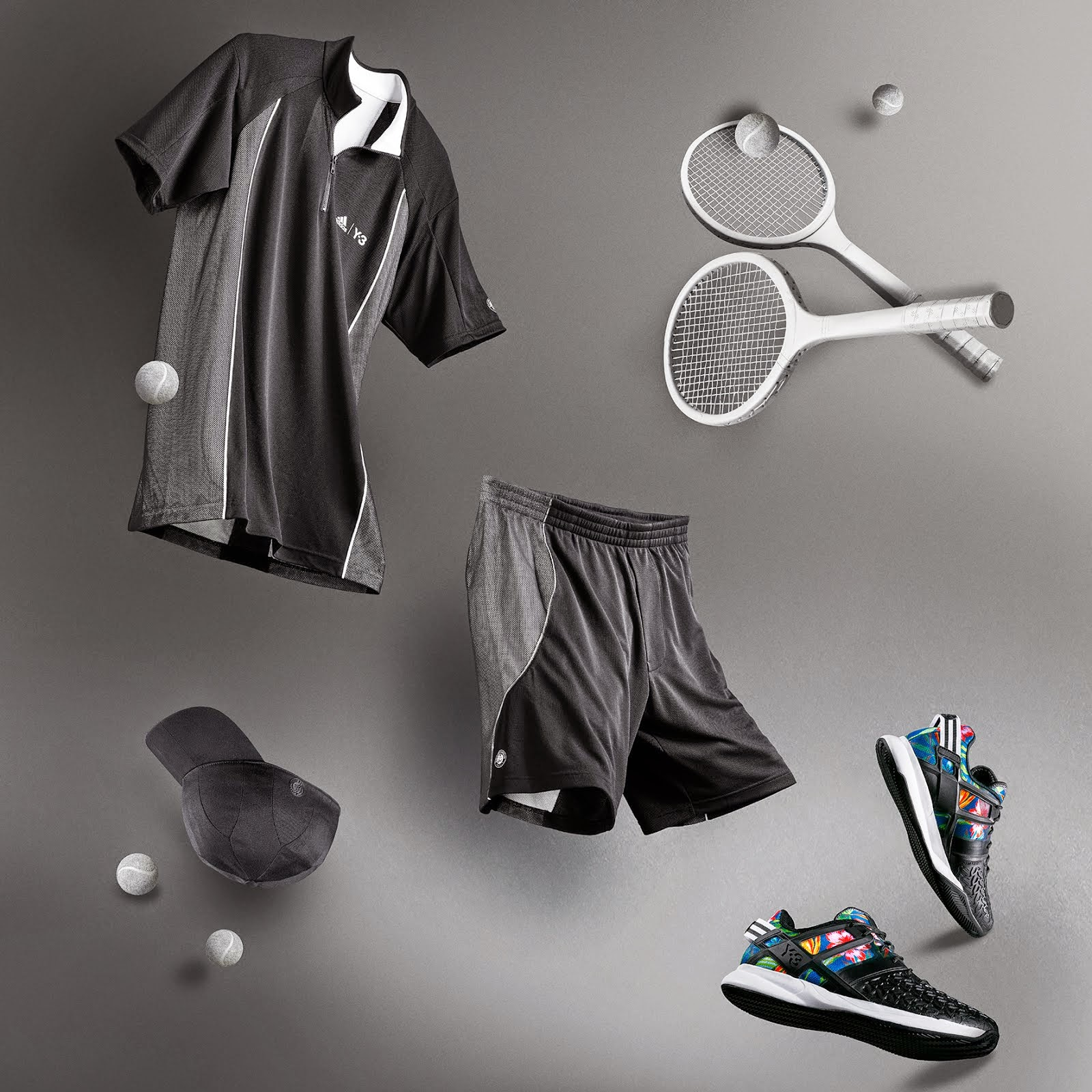 2eb505d37 adidas Roland Garros Collection by Y-3 | THE WEB MAGAZINE