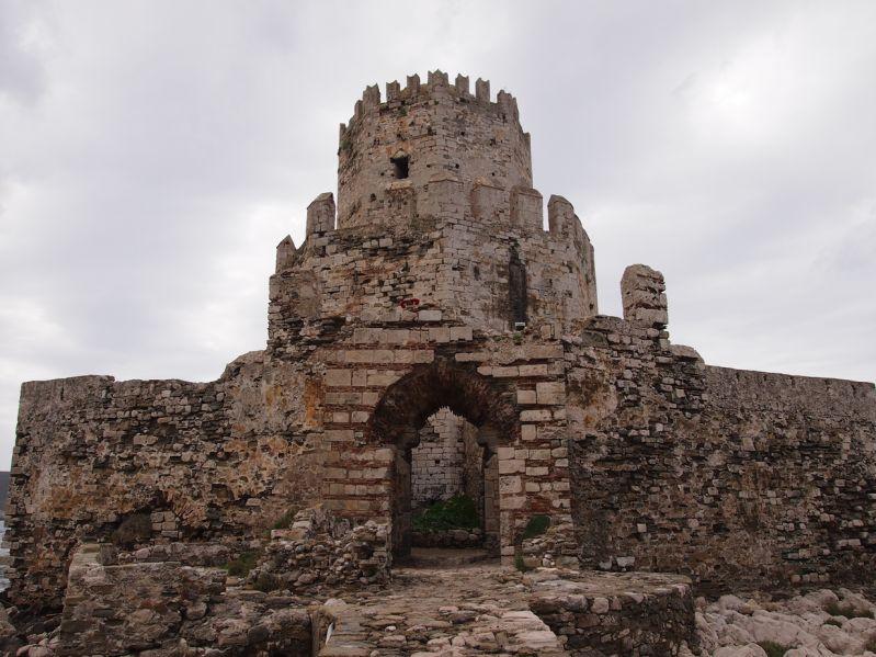 Der Bourtzi von Methoni - Erbaut von den Osmanen