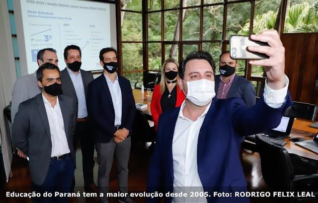 Educação do Paraná tem a maior evolução desde 2005