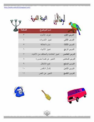 حمل مذكرة تدريبات اللغة العربية للصف الاول الابتدائى | المنهج كاملا | الترم الاول 2018