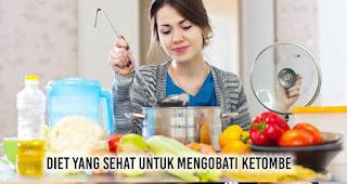 Diet yang sehat untuk mengobati ketombe