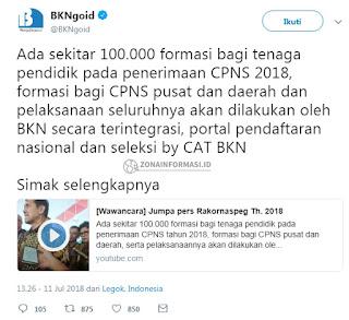 Formasi CPNS 2018
