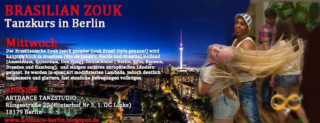Zouk Berlin Tanzkurs mit Ailton Silva