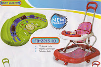 Baby Walker Family FB2213LD Traffic Melody