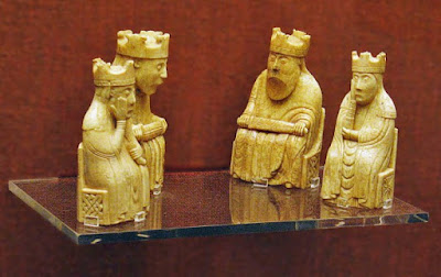 Lewis Chessmen photo by Andrew Dunn CC BY-SA 2.0