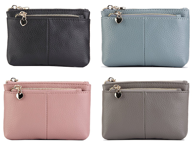 Amazon: 100% Leather Coin Purse only $14 (reg $26)!