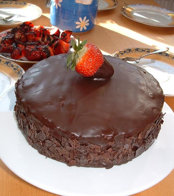 Zuckerbackerin Adela 16 03 2013 Nuss Nutella Kuchen Mit Erdbeeren