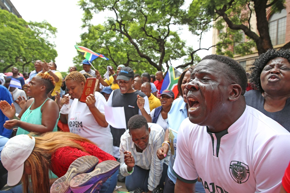 Bushiri's Supporters Raise Eyebrows After Returning To Court!