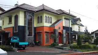 villa keluarga besar murah lembang bandung