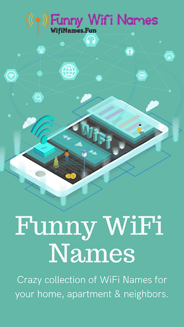 funny wifi names for home