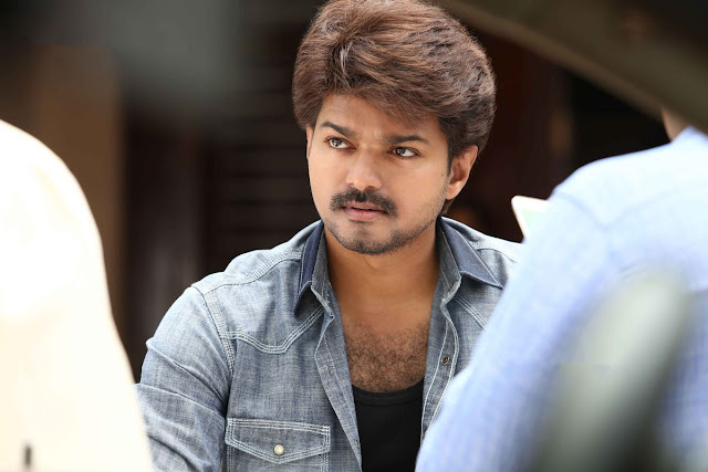 Actor vijay in Bairavaa latest photos