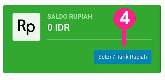 Deposit Rupiah Ke Wallet Indodax