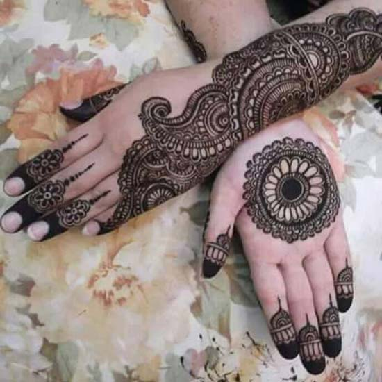 Simple Palm Mehndi Designs For Hands 2016