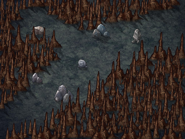 Aventura para Dungeons & Dragons - La Mentira de Malar - Encuentro Aleatorio 3