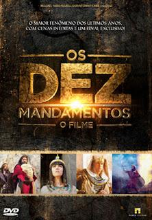 Os Dez Mandamentos: O Filme - DVDRip Nacional