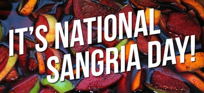 National Sangria Day Wishes Unique Image