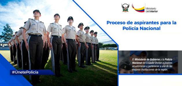 Reclutamiento en linea 2020 Policia Nacional