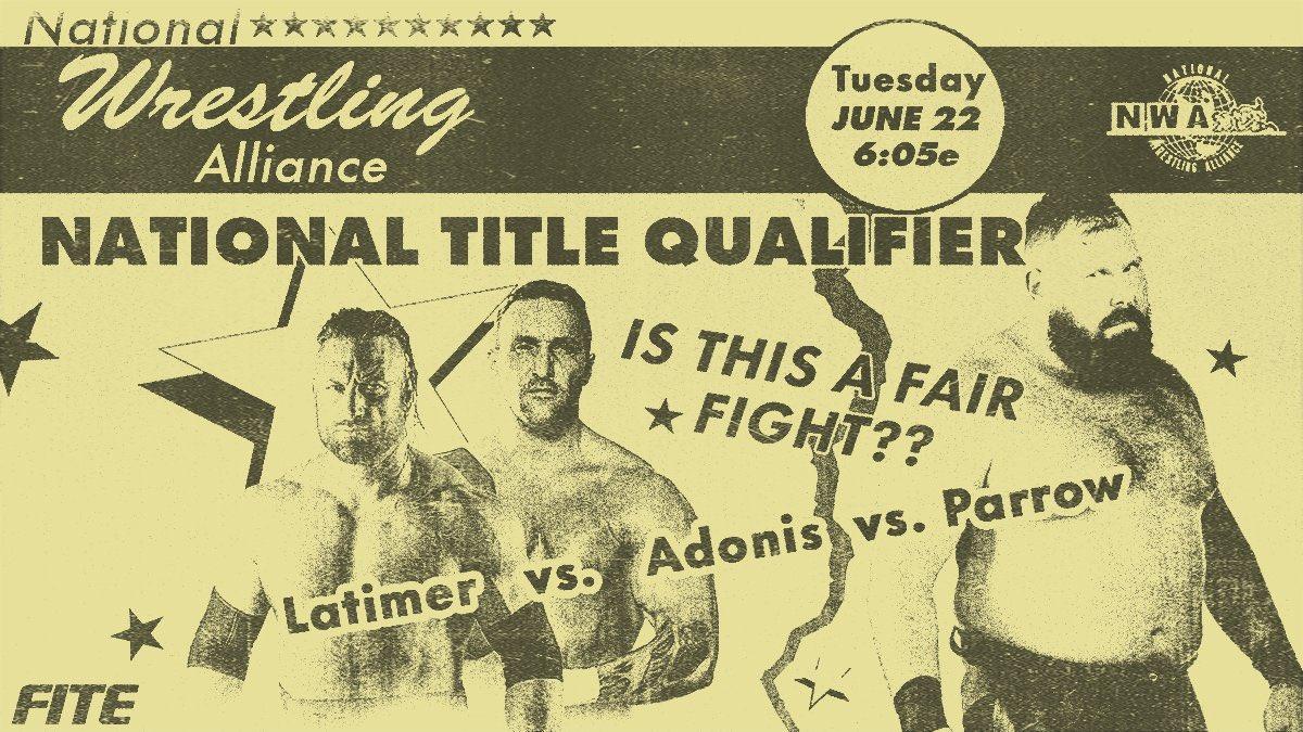 Cobertura: NWA Powerrr (22/06/2021) – Adão!