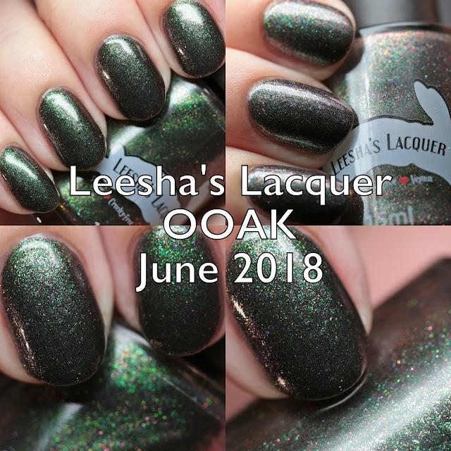 Leesha's Lacquer OOAK June 2018