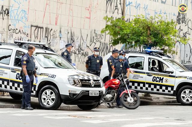 GCM de São Paulo tem 130 policiais com suspeita de coronavírus