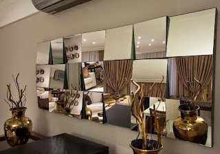 foto de Promoção Espelho-em 3d na cor bronze-frete gratis todo brasil
