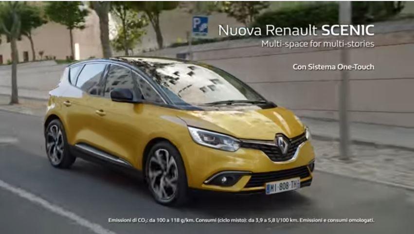 Canzone Renault Scenic pubblicità sistema touch spot lavori in casa e pittura - Musica spot Novembre 2016