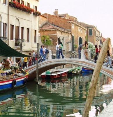 El Ponte dei Pugni en Venecia