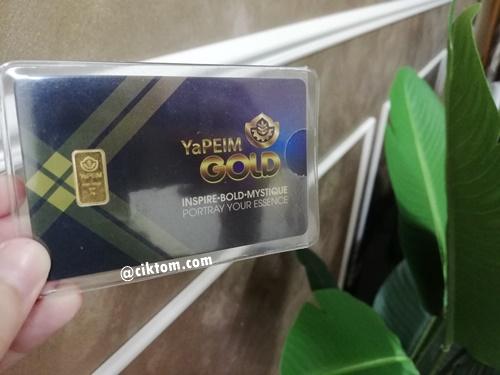 Goldbar Yapeim 1g