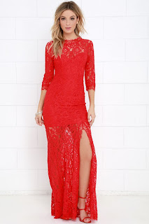 red lace maxi dress coupon