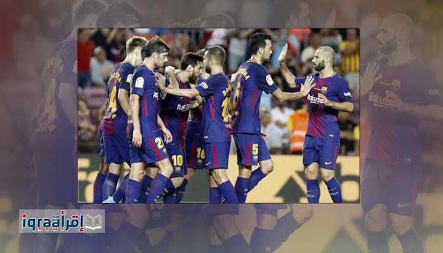 ملخص نتيجة مباراة برشلونة وريال بيتيس 2 / 0 اليوم 20-8-2017 الفوز الأول للبرسا الليجا