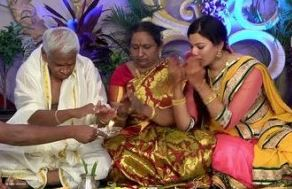Geetha Madhuri Family Husband Parents children's Marriage Photos