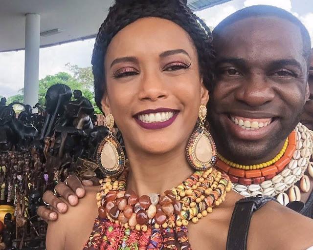 """Taís Araújo: """"Mister Brau em Angola está a ser uma experiência riquíssima"""""""