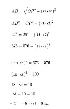 Contoh Soal Garis Singgung Persekutuan Luar Dua Lingkaran (SOAL UN Matematika SMP)