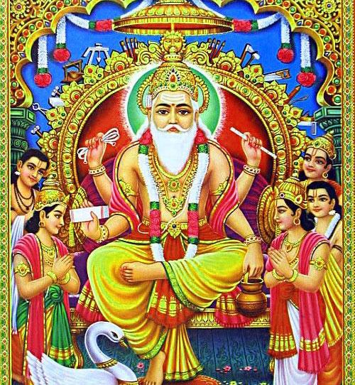 images of vishwakarma puja