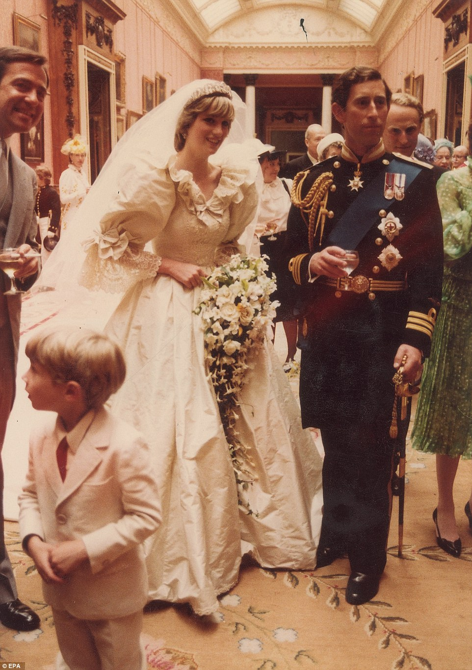 behind the scenes at the royal wedding previously unseen