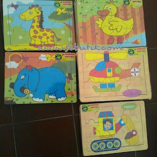 Puzzle Seri 03 Hewan - Mainan Edukatif   SeButik.com