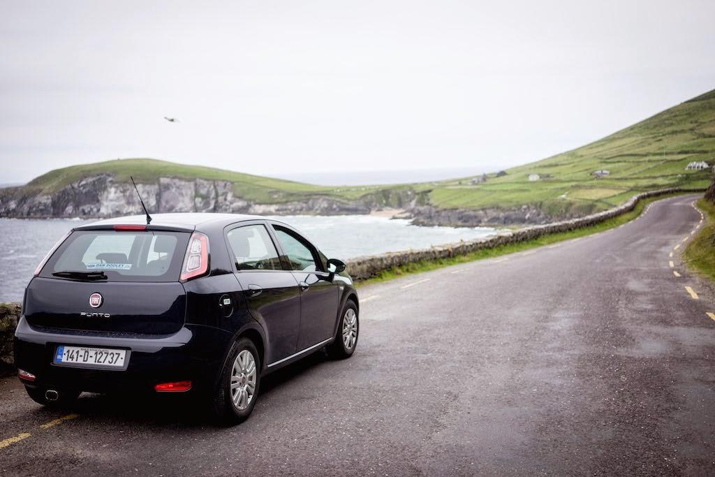 Travelling around Ireland, Slea Head Drive. Copyright @inhappenstance.com