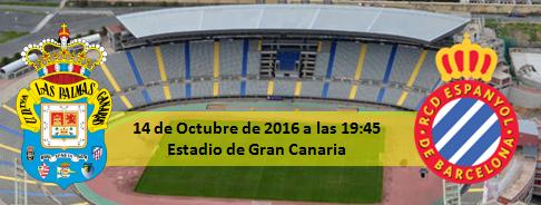 Previa UD Las Palmas - RCD Español 14 Octubre 2016 19:45